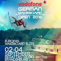 Vodafone German Wakeboard Open 2016