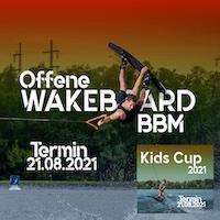Ausschreibung KidsCup und Offene Berlin Brandenburg Meisterschaften Wakeboard Boot 2021